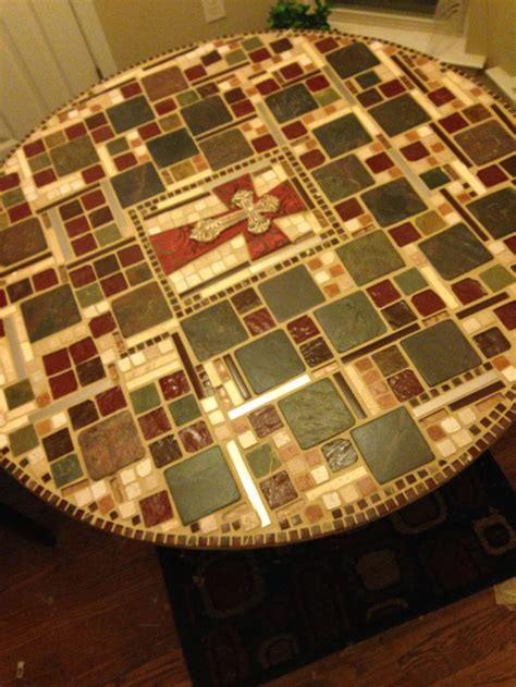Mosaic Kitchen Table Pin By Cathryn Hill On Crafts