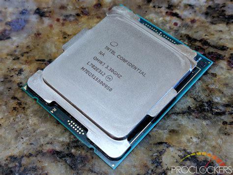 Intel I9 7900x Intel I9 7900x Cpu Review Proclockers