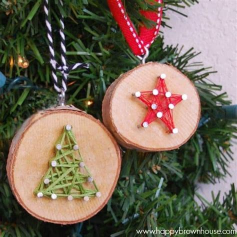 breathtakingly rustic homemade christmas decorations