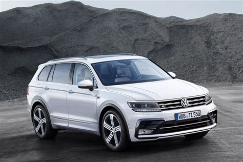 volkswagen mexico models next gen three row variant of volkswagen tiguan xl spotted