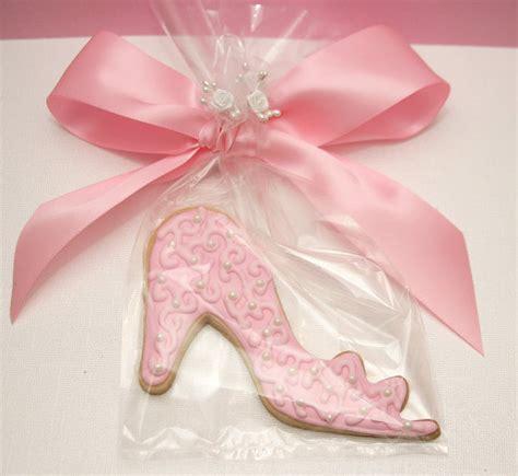 cinderella slipper favors items similar to princess cinderella slipper cookie