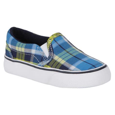 joe boxer shoes joe boxer boy s casual canvas shoe multi blue
