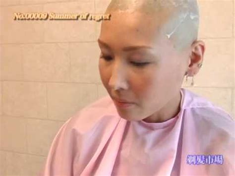 headshave japan head shave japanese girl 1 youtube