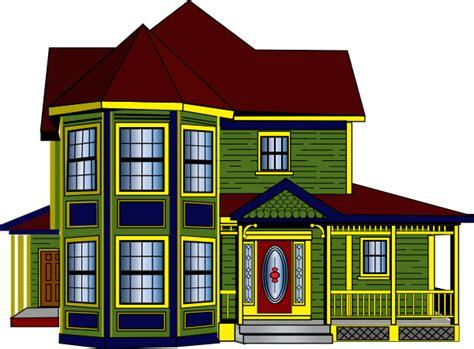 colorful cottage clip art  clkercom vector clip art