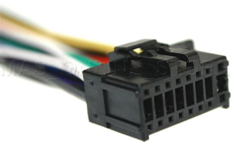 wire harness for pioneer deh7300bt deh 7300bt deh p7300bt
