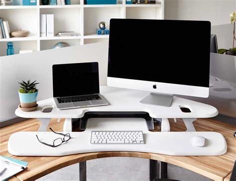 Adjustable Desk For by Varidesk Cube Corner Height Adjustable Desk 187 Review