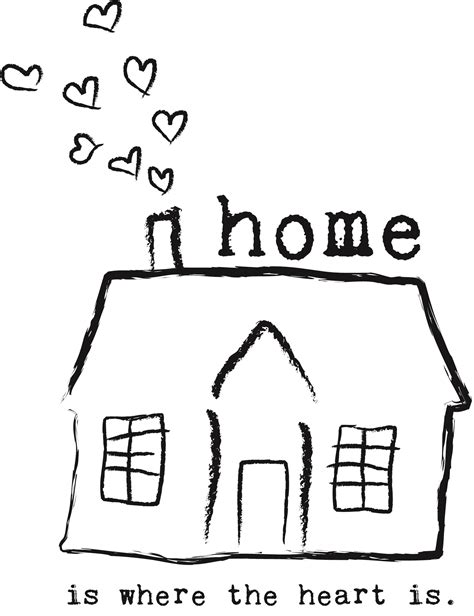 home is where the is illustratie bemind fotografie