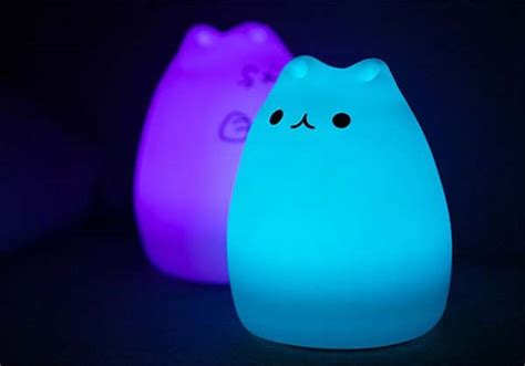cutie cat portable usb led lamp gadgetsin