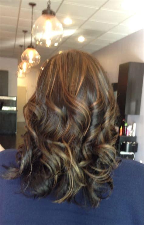 Under Crown Area Hilights | my hair was a dark brownish black erika did carmel