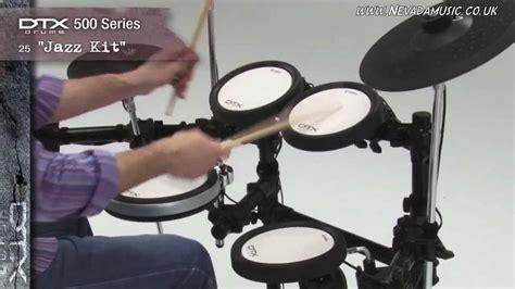 Yamaha Drumpad Tp65 yamaha dtx 500 series electronic drum kits overview