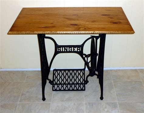 Table For Sewing Machine by Singer Sewing Machine Base Gets A New Table Top S