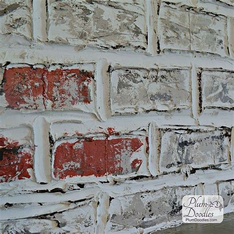 diy faux brick wall diy faux brick feature wall home owner rissy