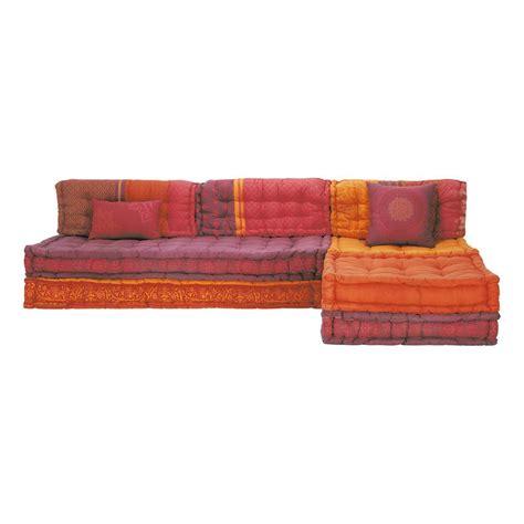 divani indiani 6 seater cotton modular corner day bed madurai