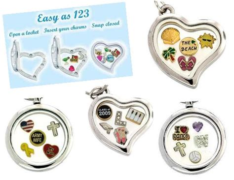 Origami Owl Store Locations - floating charm lockets original store 1400 products