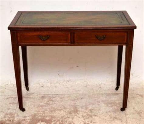 Small Antique Writing Desk Small Antique Edwardian Inlaid Mahogany Writing Table Desk 242682 Sellingantiques Co Uk