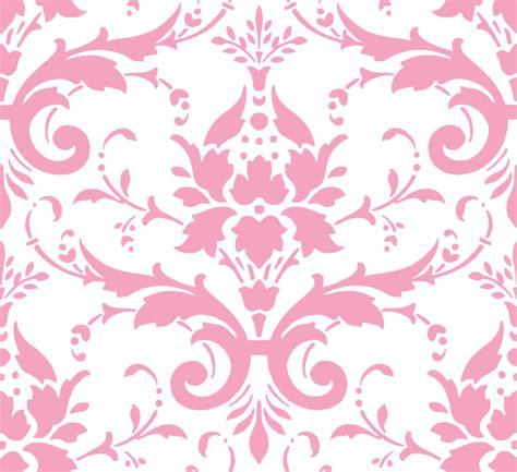 pink damask pattern pink damask ii clip art at clker com vector clip art