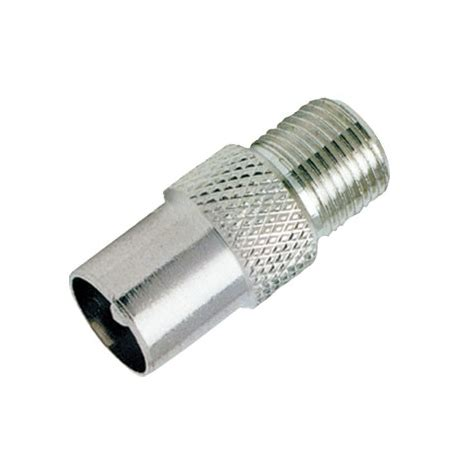 pal male   type female connector adapter coaxial tv