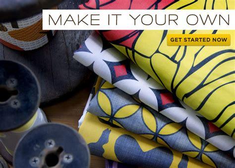 custom design your own fabric the diy adventures