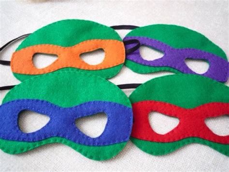 pattern for ninja turtle mask teenage mutant ninja turtles inspired felt mask