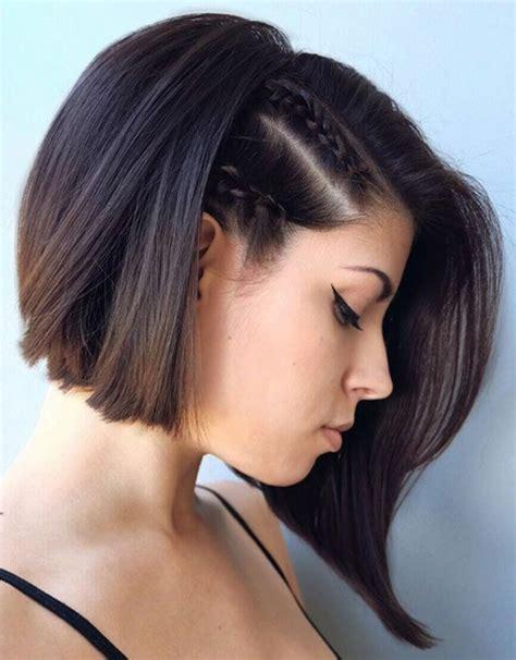 peinados para pelo corto con trenzas 1001 ideas de peinados para pelo corto con fotos