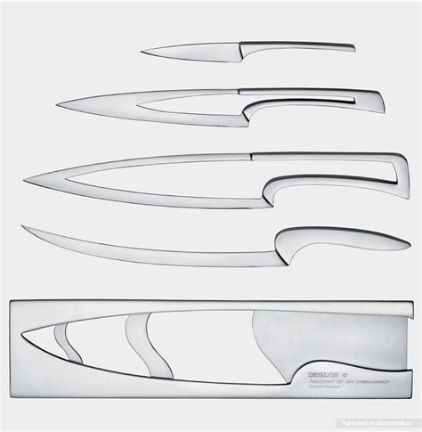 Coolest Kitchen Knife Design Ever I Like To Waste My Time Kitchen Knife Design