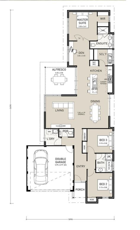 the avalon narrow block plan home builder in perth