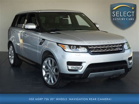 2014 land rover range rover sport supercharged used 2014 land rover range rover sport 3 0l v6