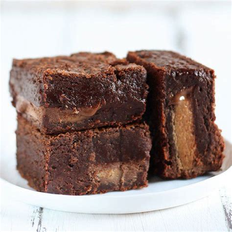 Peanut Butter Melted Brownies Premium the best peanut butter brownies handle the heat