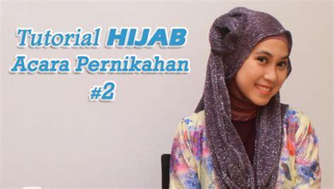 tutorial hijab untuk acara pesta pernikahan tutorial hijab untuk pesta pernikahan 2