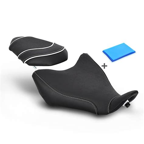 motorcycle gel seat motorcycle gel comfort seat rebuilding yamaha mt 07 ebay