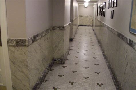 marble wainscoting faux marble wainscot traditional denver by