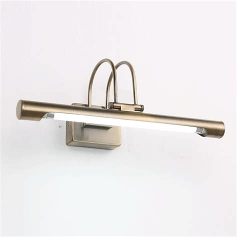 stainless steel bathroom light fixtures stainless steel wall light 10w 24 4 quot length mirror bathroom