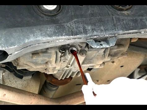 2002 Acura Mdx Transmission Fluid Change How To Change The Rear Differential Fluid On A 2007 Acura
