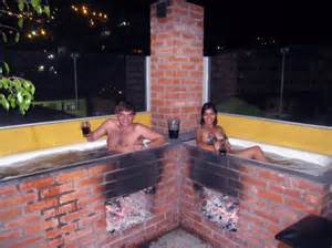 enjoy a wood fired outdoor spa for free in la paz
