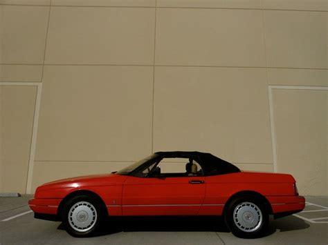 1988 cadillac allante base convertible 2 door 4 1l