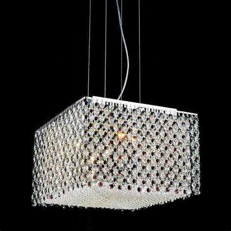 Mini Black Crystal Chandelier Brizzo Lighting Stores 16 Quot Rainbow Modern Square Crystal