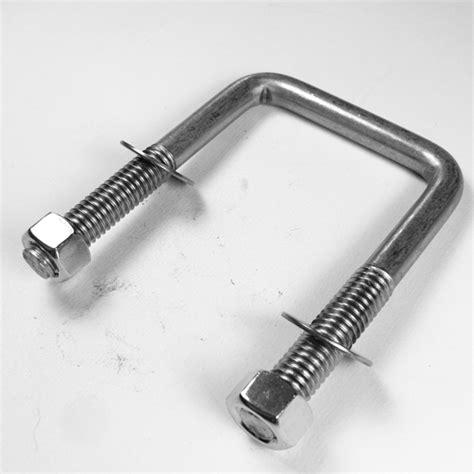 square bolt square u bolt standard thread 304 stainless steel