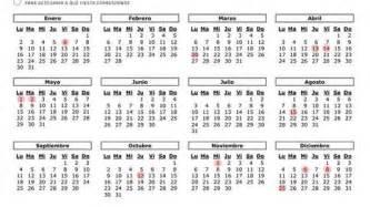 Calendario Laboral Guipuzcoa 2018 Semana Santa Calendario Laboral 2017 En La Comunidad De
