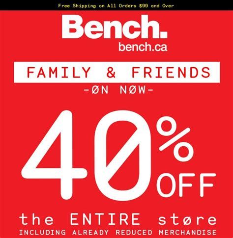 bench ca coupon code 28 images bench canada deals 40