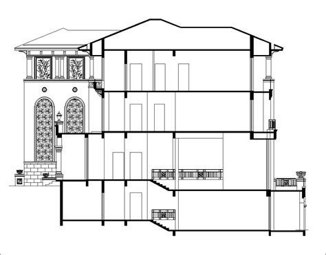 free home plans architectural cad drawings