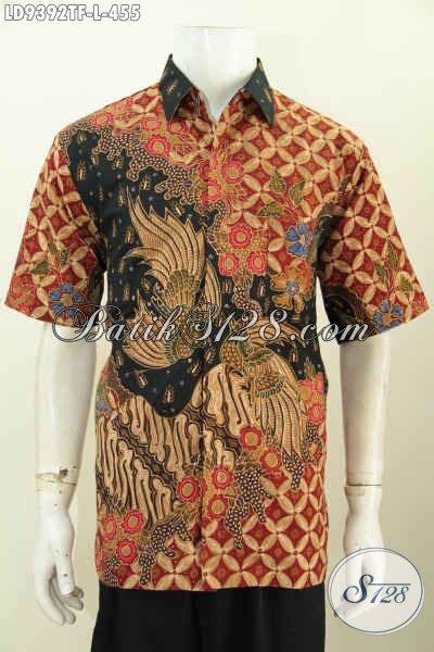 Jual Baju Untuk Jual Baju Batik Hem Pria Branded Busana Batik Mewah