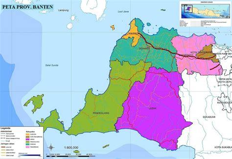 peta banten hd lengkap ukuran besar  keterangannya