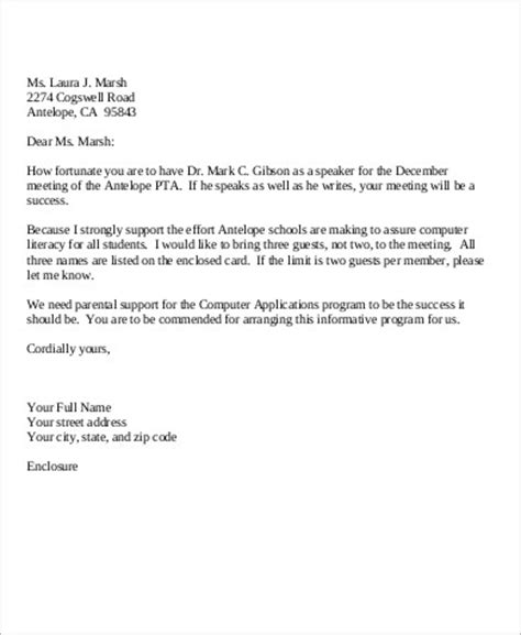 personal business letter sample www pointpoint co