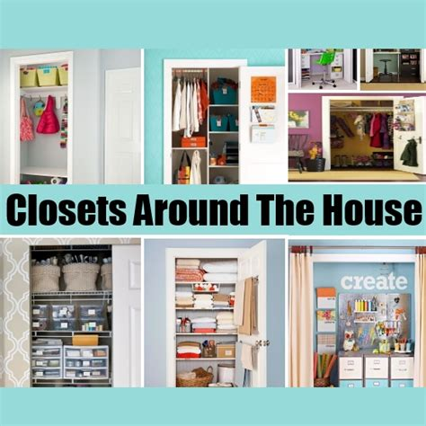 home things clever closets around the house diy home things