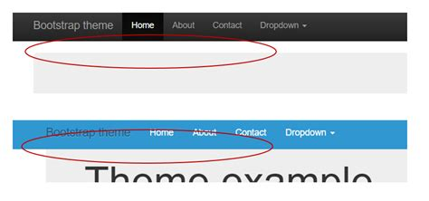 fixed top bar bootstrap css bootstrap navbar fixed top is not working stack