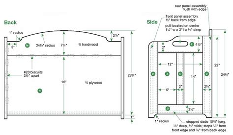 Templates For Toy Boxes | pdf toy box template plans free