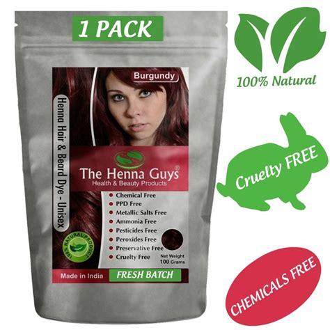 burgundy henna hair dye natural burgundy henna hair dye henna me burgundy red henna hair beard dye color 1 pack