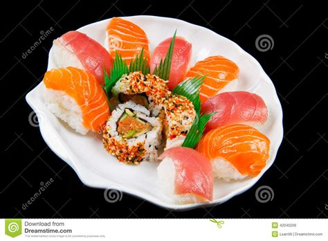 imagenes de japon comida comida japonesa tradicional del sushi fresco foto de