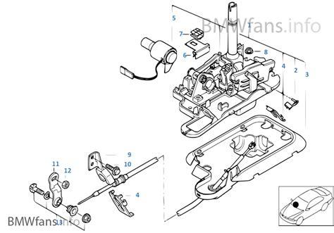 autom transmiss steptronic shift parts bmw 3 e46 320i