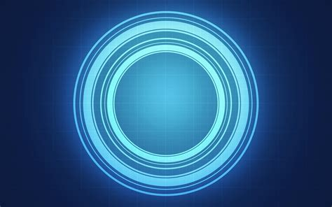 Abstract Blue Minimalistic Computer Graphics Wallpaper blue circle wallpaper wallpapersafari